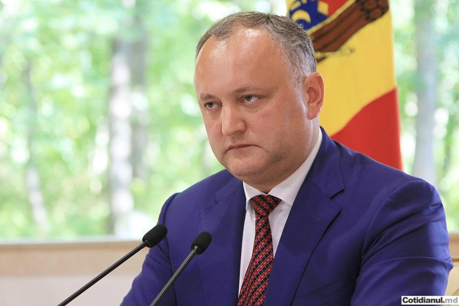 """Dodon, nemulțumit de votul chișinăuienilor: """"S-a votat ideologia, nu competența managerială reală""""."""