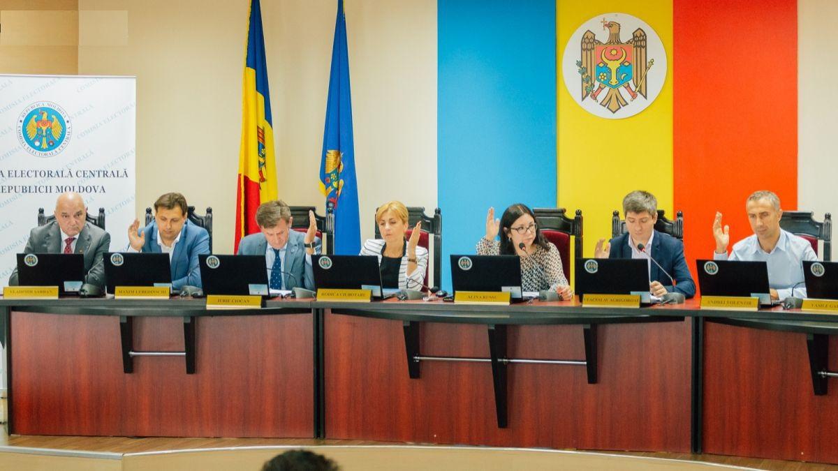 CEC va decide astăzi data alegerilor locale în Chișinău și Bălți