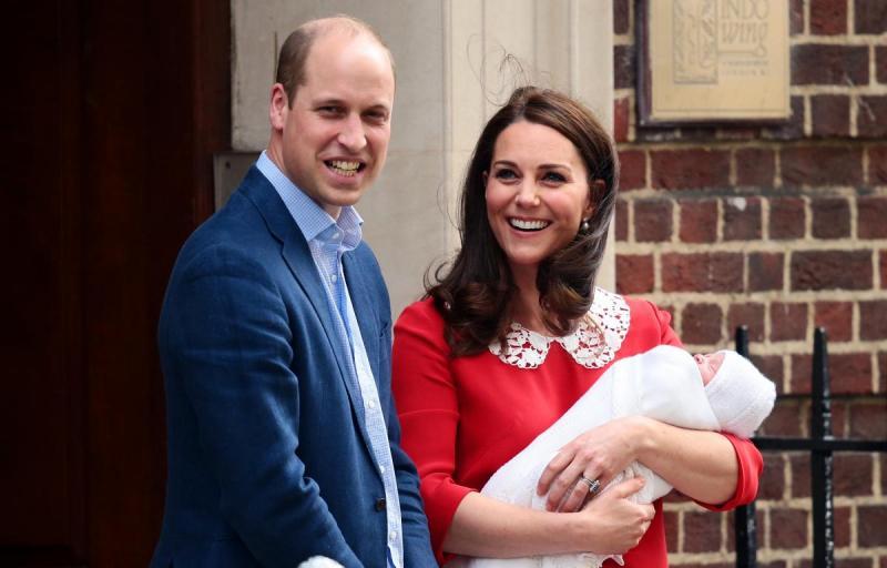 Kate și William au anunțat numele celui de-al treilea copil. Cum va fi botezat băiețelul