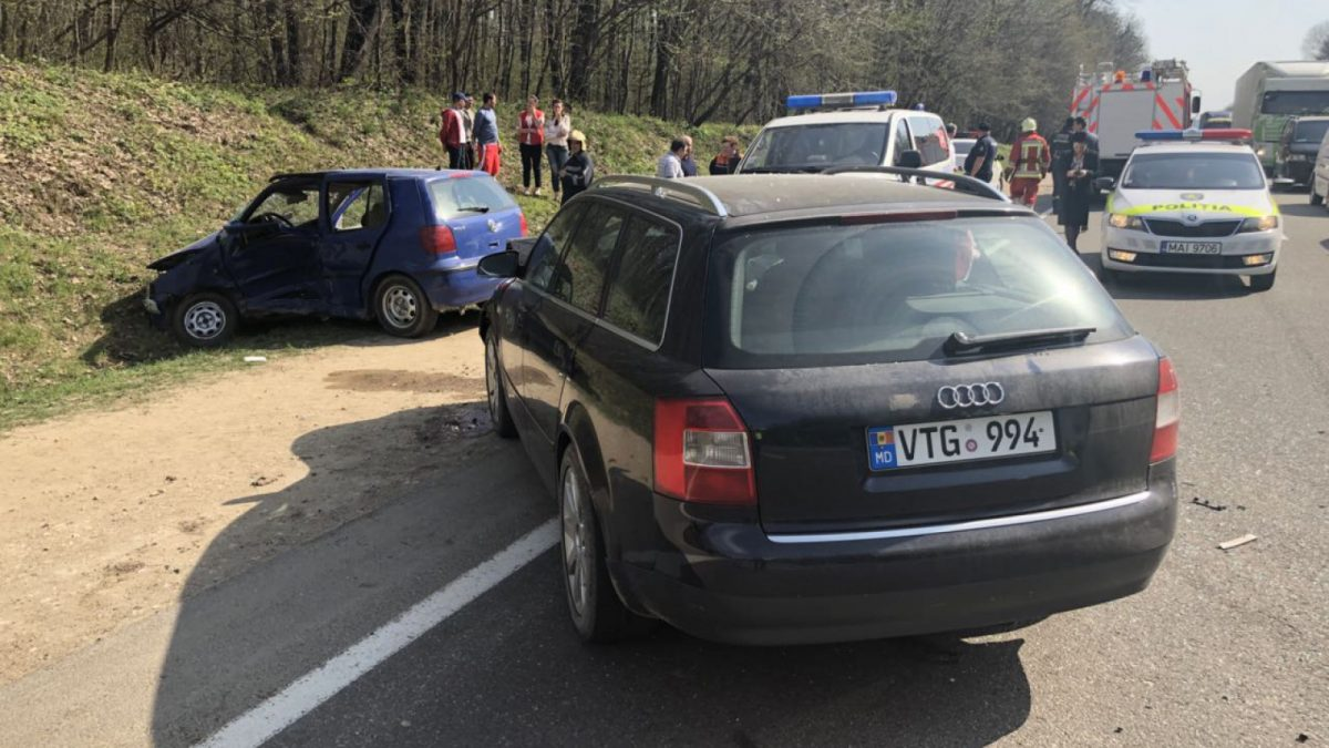 (FOTO) Accident rutier la Orhei soldat cu o persoană decedată