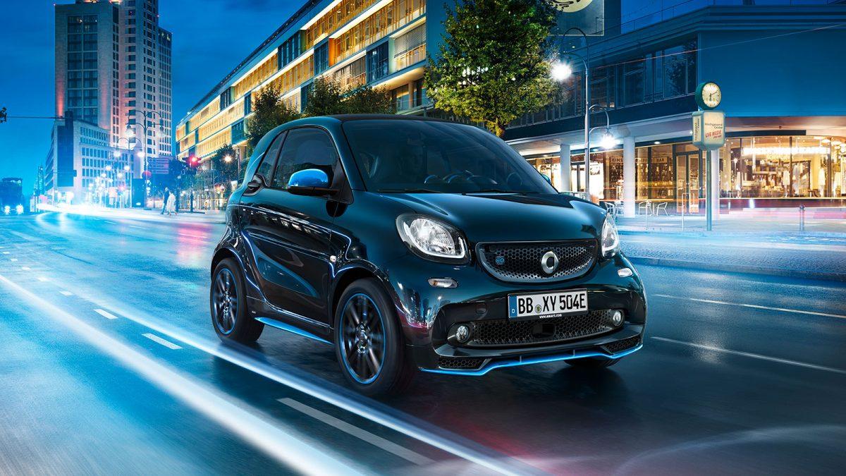 Smart va deveni brand 100% electric în Europa