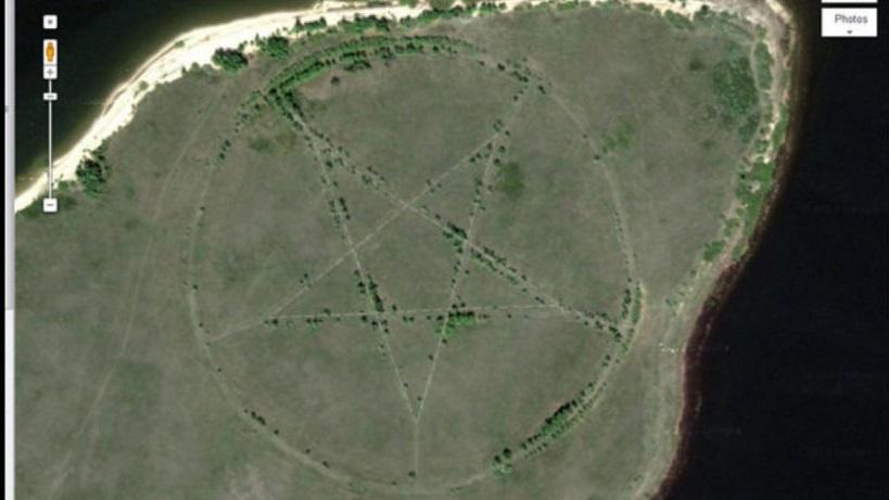 Cele mai ciudate locuri de pe Pământ pe care le poţi vedea de pe Google Earth