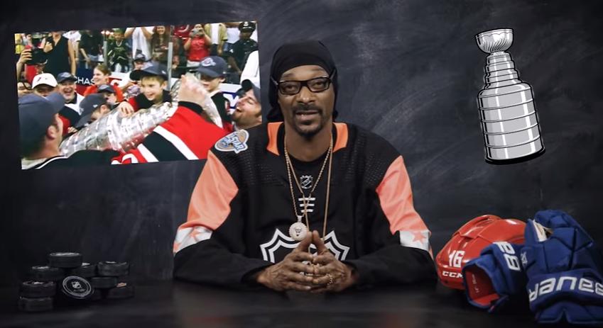(VIDEO) Snoop Dogg este gazda unui serial YouTube despre istoria hocheiului