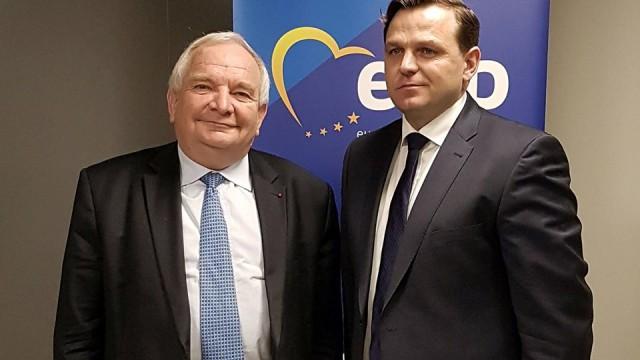 """Joseph Daul își exprimă susținerea pentru Andrei Năstase: """"Singurul candidat pro-european și anti-oligarhic capabil să modernizeze Capitala"""""""