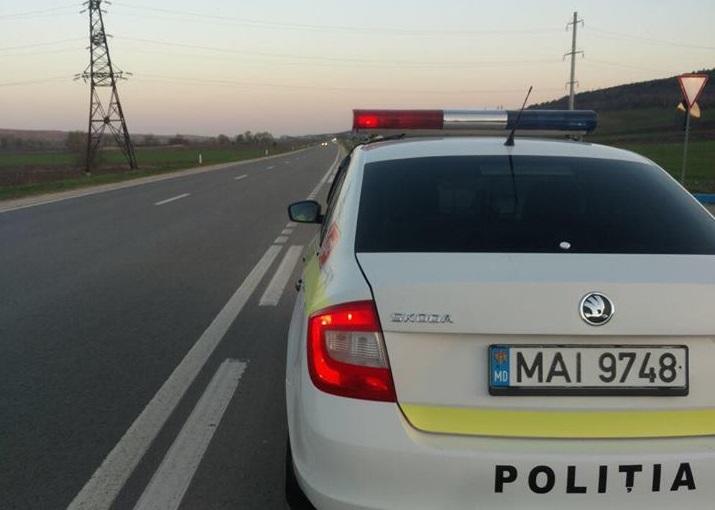 Șofer vitezoman prins cu 182 km/h pe traseul Chișinău –Leușeni
