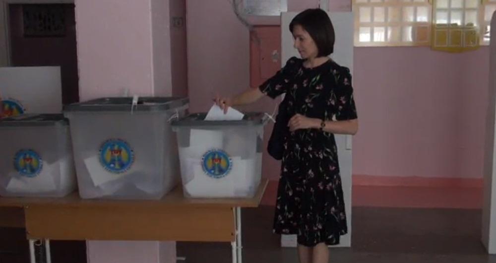 """(VIDEO) Maia Sandu: """"Dacă nu mergem la vot acum, mai târziu am putea să fim lipsiți de acest drept"""""""