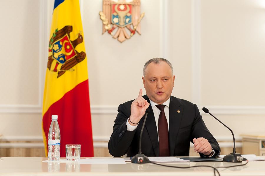 Igor Dodon va promulga legile amnistiei fiscale; Cum argumentează asta