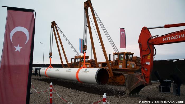 Turcia inaugurează TANAP, gazoductul care va aduce gazul azer în Europa