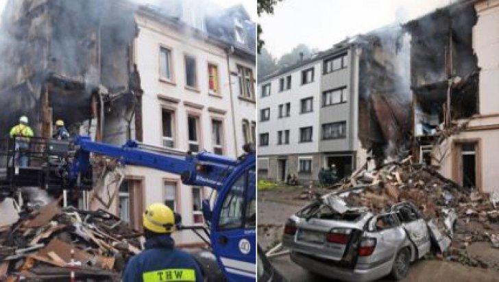 Explozie în Germania. 25 de persoane, rănite