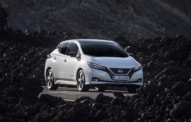 Topul celor mai bine vândute mașini electrice în Europa; Un Nissan e lider