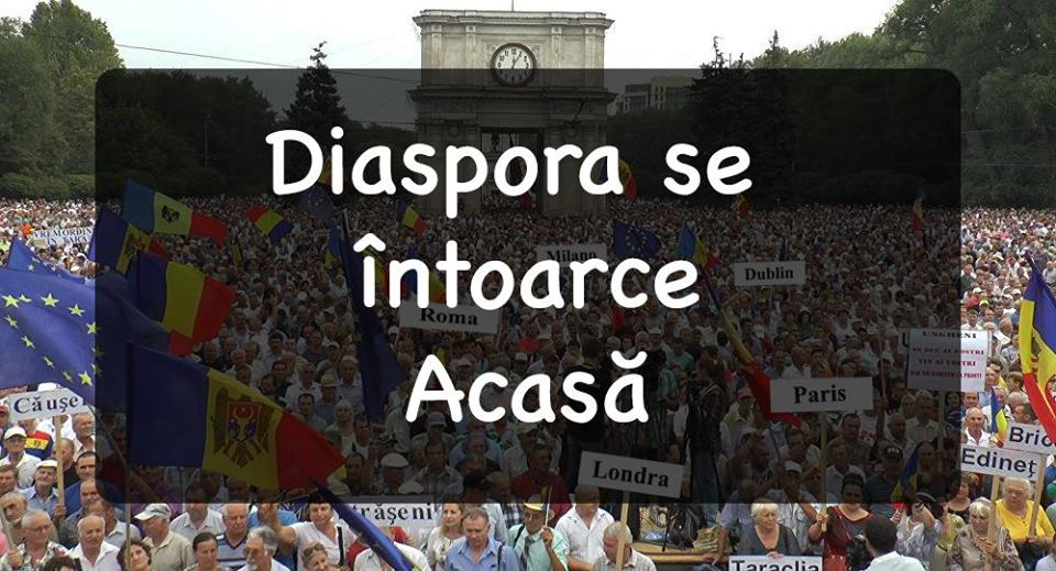 Diaspora se întoarce acasă: Cum se mobilizează moldovenii de peste hotare pentru protestul din 26 august