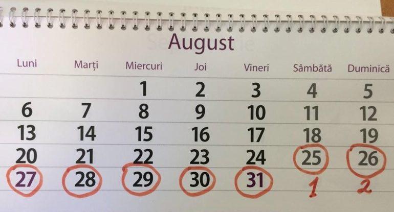 Fiscul nu respectă deciziile Guvernului: Nu acceptă cele 9 zile de vacanță