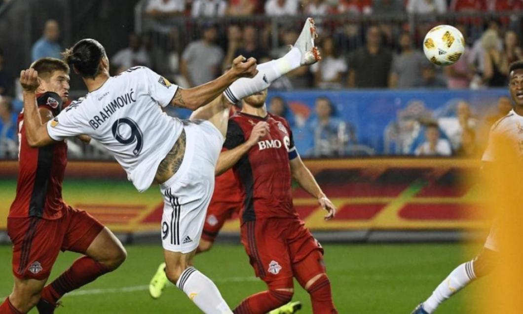 (VIDEO) Încă un gol senzațional, marca Ibrahimovic: Cum arată reușita nr. 500
