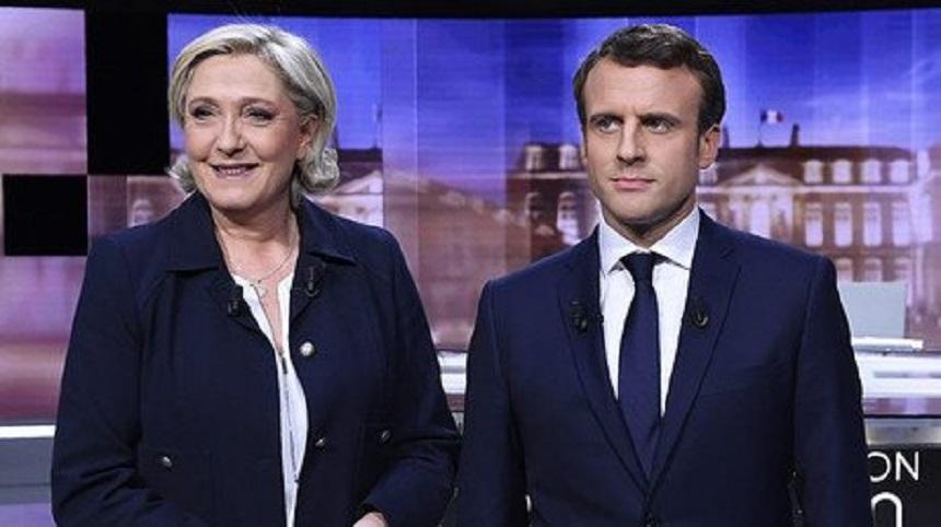 (SONDAJ) Partidele lui Macron şi Le Pen, practic la egalitate pentru europarlamentare