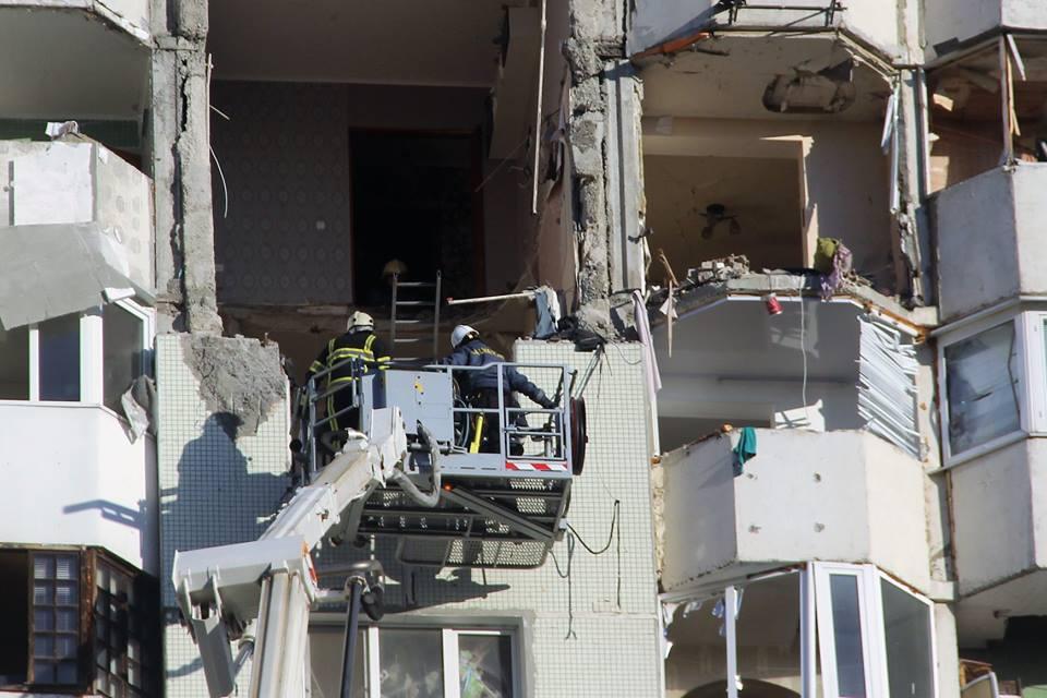 (VIDEO) Imagini de groază: Blocul în care a avut loc explozia, filmat cu drona