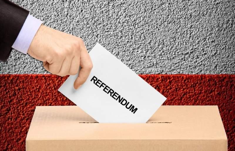 (FOTO) Cum vor arăta buletinele de vot pentru referendumul din 26 mai din România