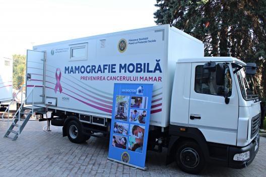 Screening mamar gratuit pentru femeile din Moldova