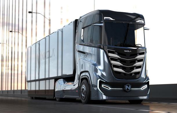 (FOTO) Camionul revoluționar alimentat cu hidrogen; Autonomie de 1200 de km