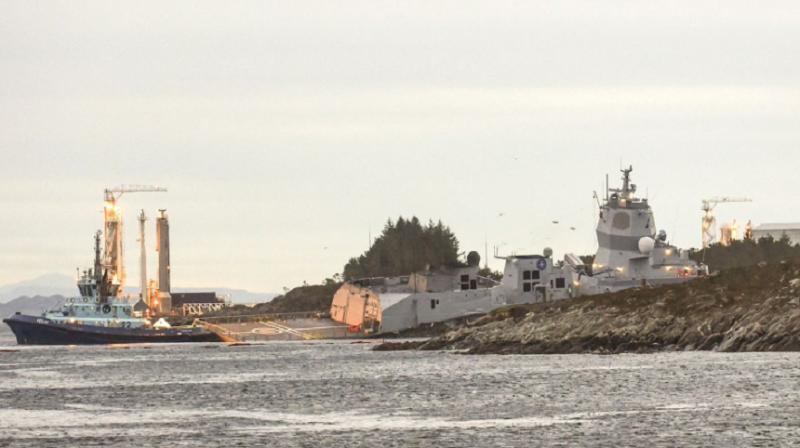 Coliziune puternică între un petrolier maltez şi o fregată norvegiană: Opt persoane au fost rănite