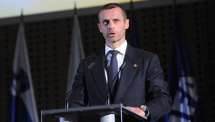 Singurul candidat, reales președinte la UEFA în aplauzele asistenței