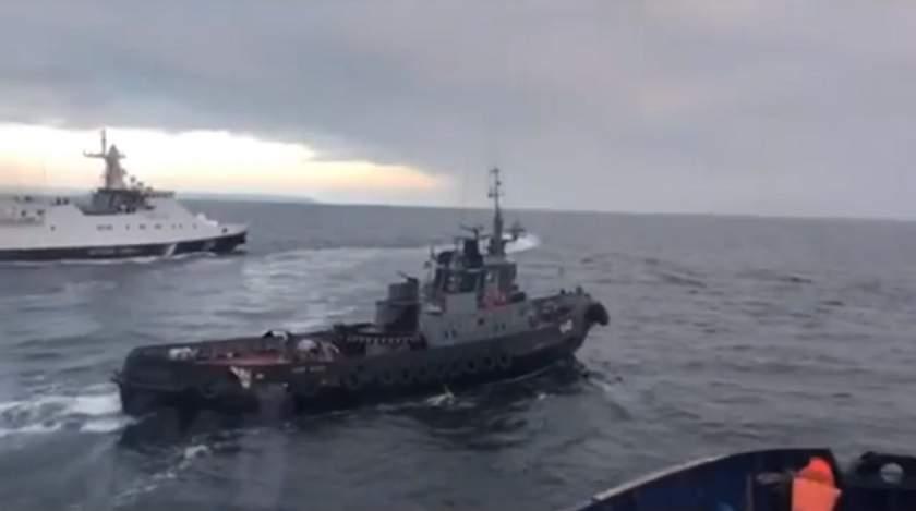 Opt ruși, sancționați de UE pentru rolul lor în incidentul armat din strâmtoarea Kerci