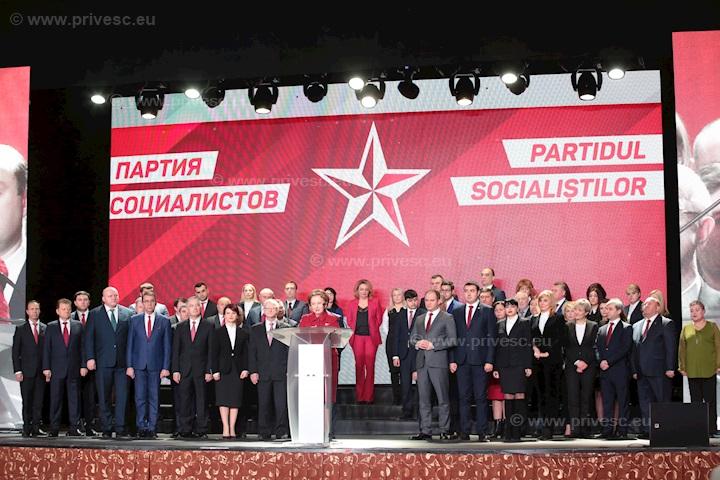 Lista candidaților PSRM pentru alegerile parlamentare; Igor Dodon decide într-o lună dacă va fi cap de listă