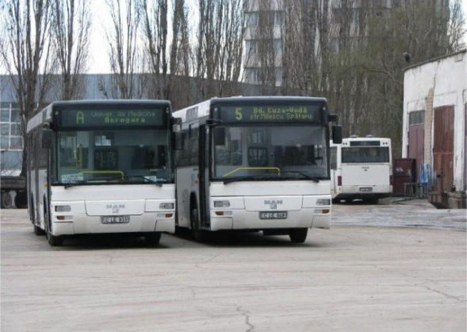 Mai multe rute de autobuz din Chișinău își vor modifica itinerarele din 1 ianuarie 2019