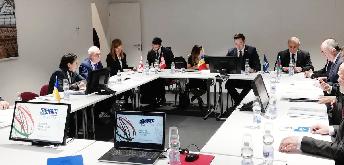 Republica Moldova a transmis președinția GUAM Ucrainei