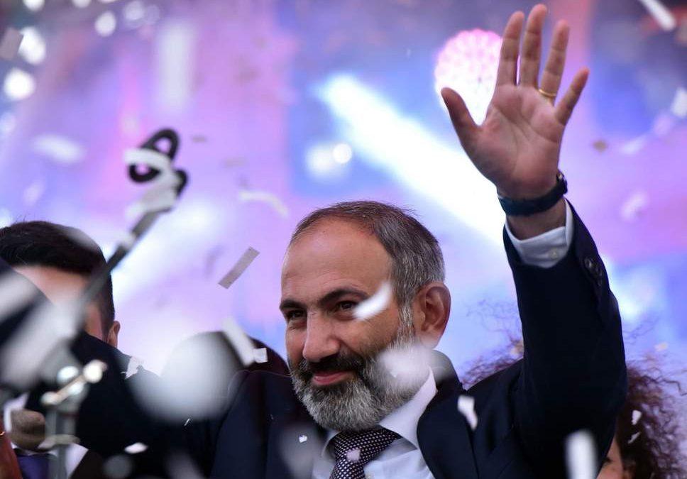 Nikol Pashinyan a fost desemnat premierul Armeniei după victoria în alegeri