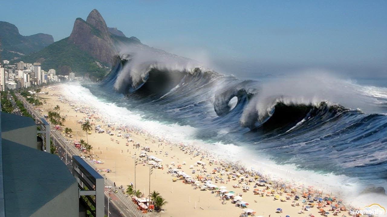 Alertă de tsunami în Noua Cale...