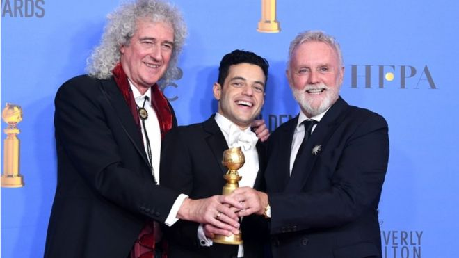 """(VIDEO) Surprize la Globurile de Aur 2018: """"Green Book"""" și """"Bohemian Rhapsody"""", marii câștigători"""