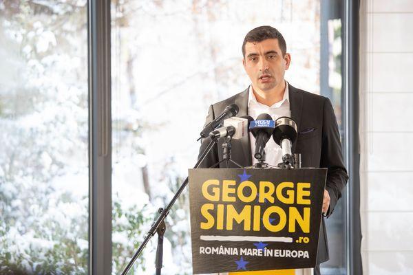 (VIDEO) Unionistul George Simion va candida la europarlamentare