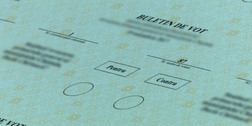 Cinci partide vor participa la referendumul din 24 februarie; Ce opțiuni au ales
