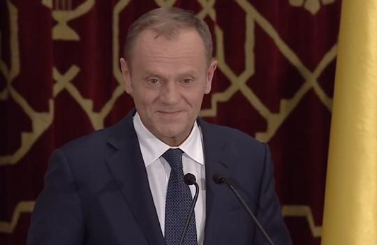 (VIDEO) Discurs impresionant al lui Tusk, în limba română: A fost aplaudat în picioare