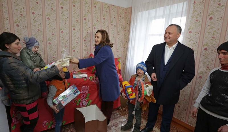Fundația soției lui Igor Dodon, sponsorizată de fiul procurorului general al Rusiei