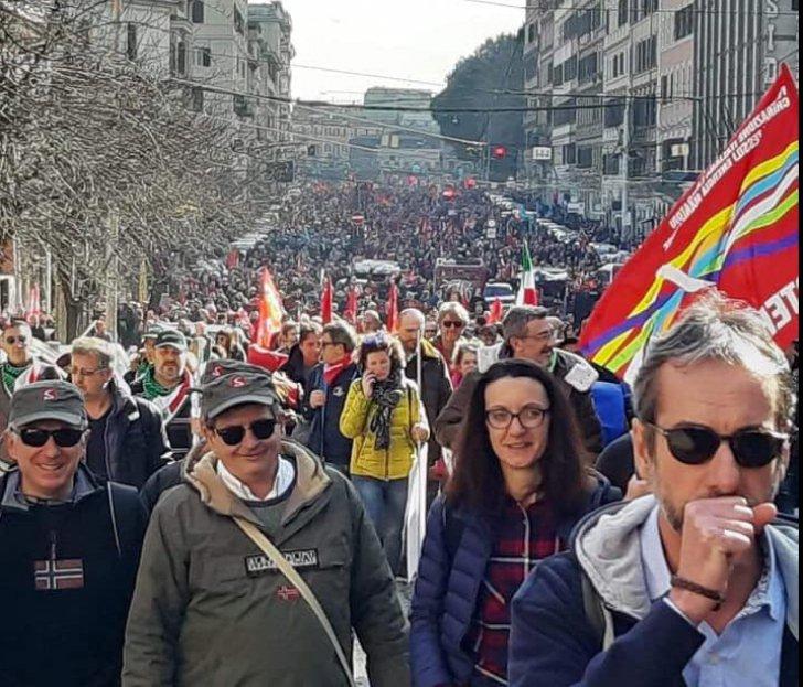 Protest masiv la Roma împotriva guvernului populist al Italiei