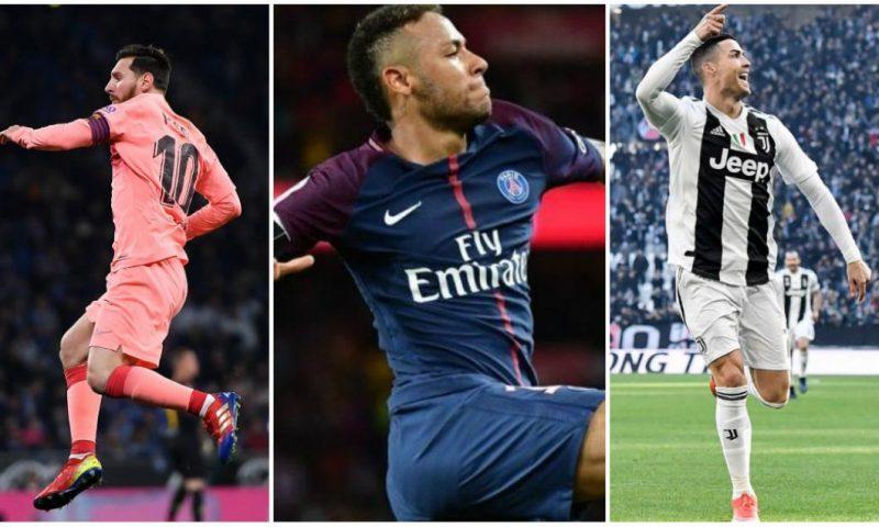 Ce salarii au Messi, Ronaldo, Neymar sau Mbappe