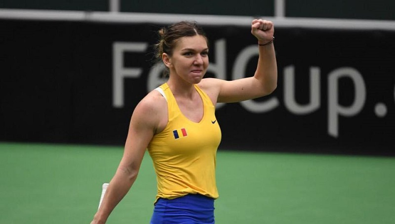 Simona Halep a învins-o pe Karolina Pliskova; România, pentru a doua oară în istorie, în semifinalele Cupei Federaţiei