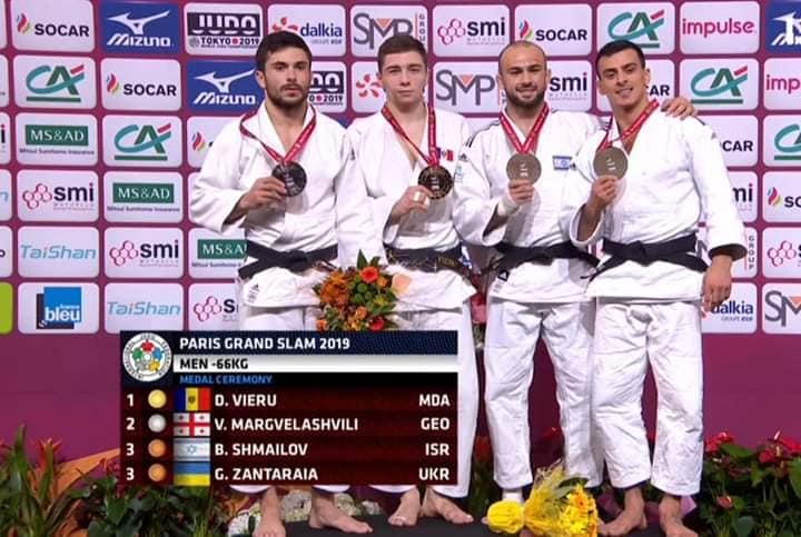 Premieră pentru Republica Moldova: Judocanul Denis Vieru a câștigat turneul Grand Slam de la Paris