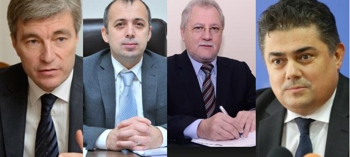 Carpov, Creangă, Untila și Calmîc, noii șefi la ANRE