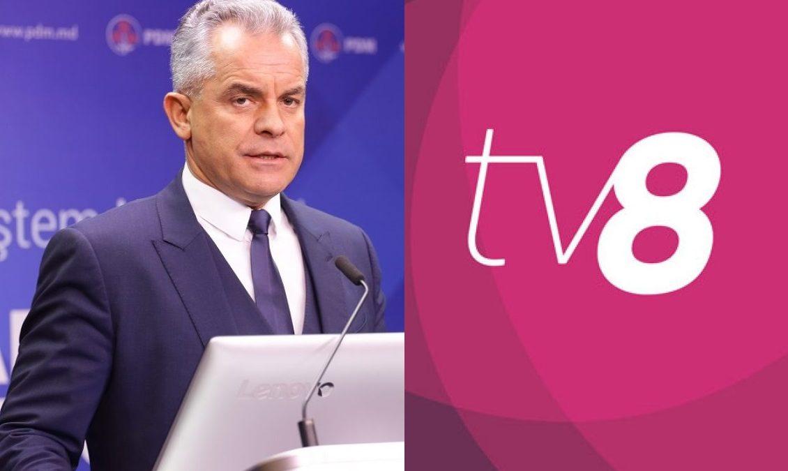 """(VIDEO) După alegeri, TV8 din nou, interzis la sediul PDM: """"Astăzi nu mai aveți acces"""""""