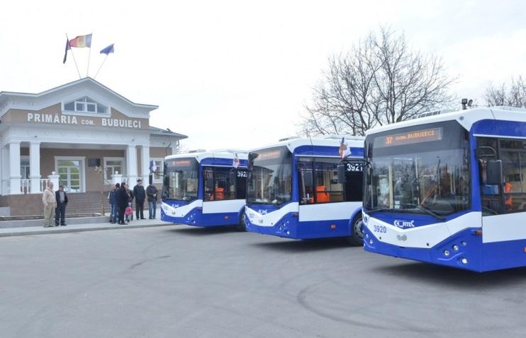 Ruta de troleibuz spre Bubuieci, lansată astăzi: Ce itinerar are