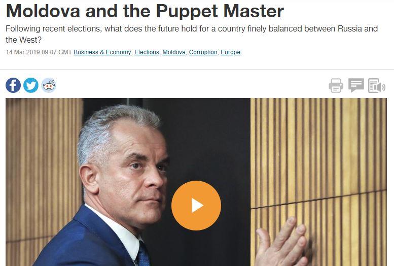 (VIDEO) Plahotniuc, din nou subiect în presa internațională: Moldova și păpușarul său