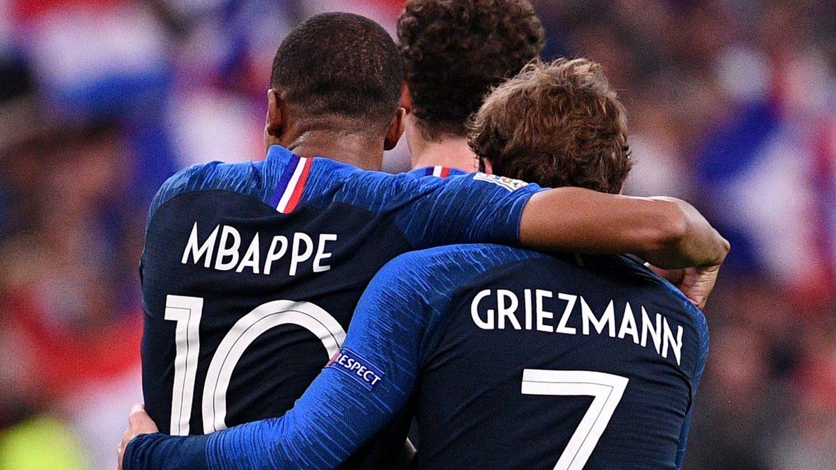 Lista celor 23 de jucători ai Franței care vin la Chișinău