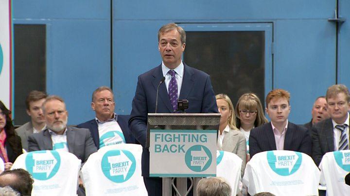 Europarlamentare: Partidul Brexit, condus de euroscepticul Farage, pe primul loc în intențiile de vot