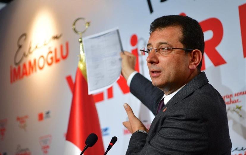 """Primarul demis al Istanbulului denunță """"minciunile"""" invocate pentru a anula victoria sa în alegeri"""
