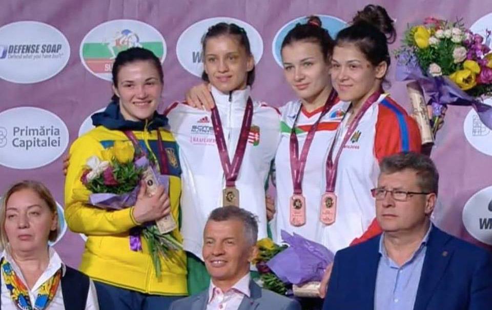 Anastasia Nichita a obținut bronzul la Europenele de seniori