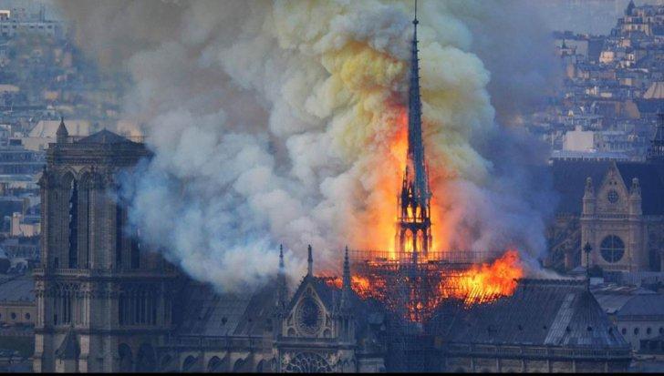 Care este cauza incendiului devastator de la Catedrala Notre-Dame