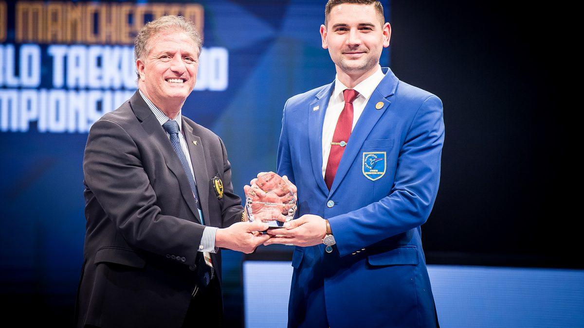 Un moldovean a fost ales cel mai bun arbitru al Campionatului Mondial de taekwondo