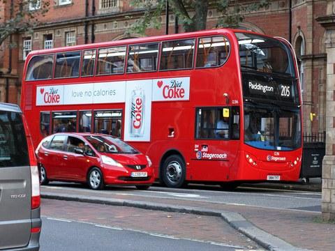 Londra va introduce prima flotă de autobuze double-decker alimentate cu hidrogen